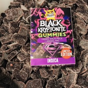 Buy Black Kryptonite Gummies Online